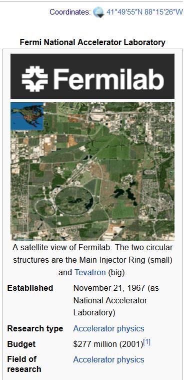 fermilab latitude 41