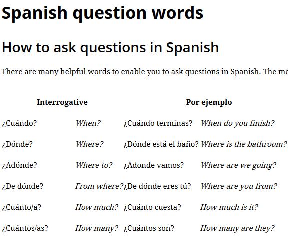 spanish carmen spanish
