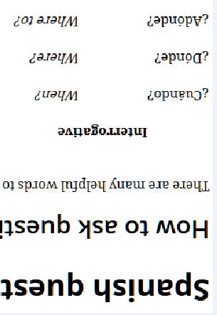 spanish words question mark totzke