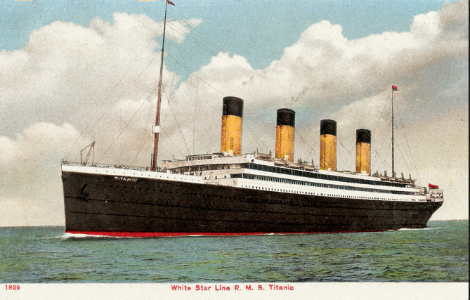 boat  titanic